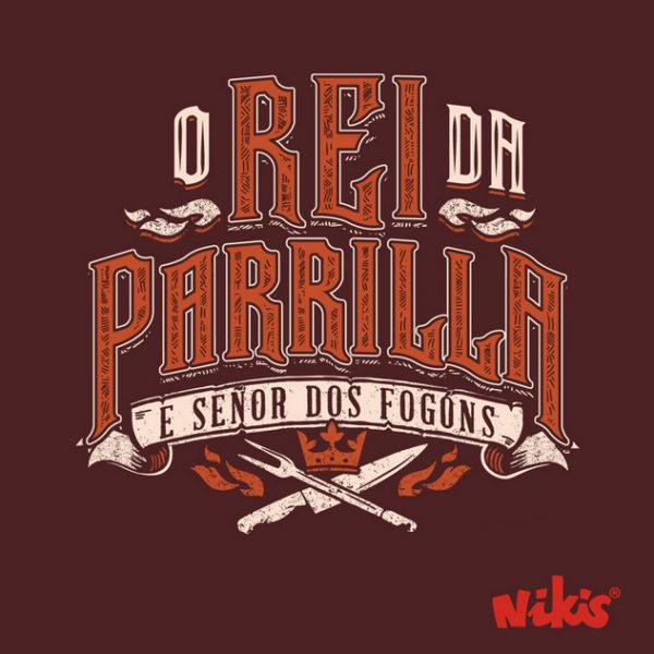 Delantal O Rei da parrilla Nikis Galicia