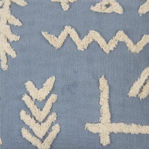 Textura Cojín Denver Petite azul intenso