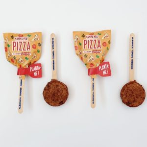 Piruletas de semillas Lollipop Garden Pocket Pizza