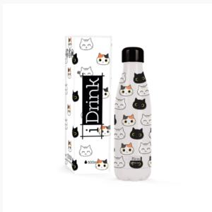 Botella termo gatos iDrink